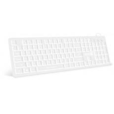CONNECT IT klávesnice CK42, kancelářská, drátová, podsvícená, USB, CZ + SK, bílá