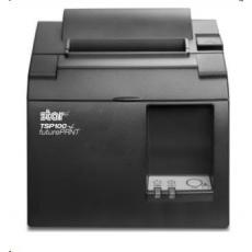 Star TSP143IIU+, USB, 8 dots/mm (203 dpi), cutter, dark grey