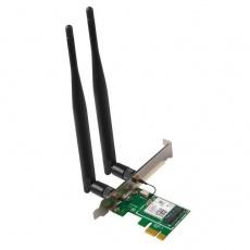 Tenda E30 - Wireless-AX PCIe Adapter, 802.11ac/a/b/g/n/ax, Bluetooth 5.0, 3000 Mb/s, 2x Ext. Ant. 5 dBi