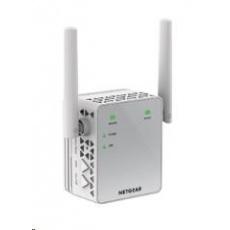 Netgear EX3700 WiFi AC750 Range Extender, 1x 10/100 RJ45, přímo do zásuvky