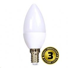 Solight LED žárovka, svíčka, 6W, E14, 3000K, 450lm