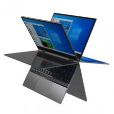 "UMAX NTB VisionBook 14Wr Flex - 14,1"" IPS FHD 1920x1080,Celeron N4120@1,1 GHz,4GB,128GB,Intel UHD,W10P,Tmavě šedá"