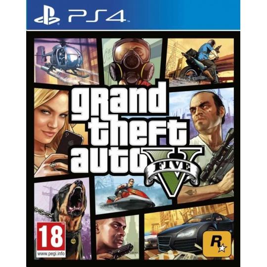 PS4 hra Grand Theft Auto V Premium Edition