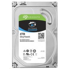 BAZAR - SEAGATE HDD SKYHAWK (SURVEILLANCE) 4TB SATAIII/600 5900RPM, recertified product
