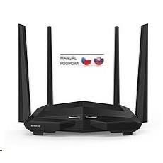 Tenda AC10 Wireless AC1200 Dual Band Router, 1x gigabit WAN, 3x gigabit LAN