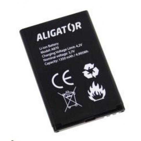 Aligator baterie Li-Ion 1450 mAh pro Aligator, kompatibilita viz popis