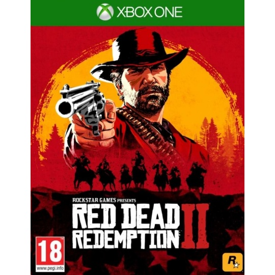 XBOX One hra Red Dead Redemption 2