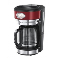 RUSSELL HOBBS 21700 Kávovar - RETRO glass red