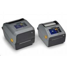 Zebra ZD621t, 8 dots/mm (203 dpi), cutter, disp., RTC, USB, USB Host, RS232, BT (BLE), Ethernet, grey