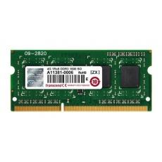 SODIMM DDR3 4GB 1600MHz TRANSCEND JetRam™, 512Mx8 CL11, retail