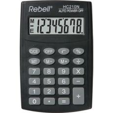 REBELL kalkulačka - HC210N - černá