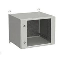 Solarix rozvaděč nástěnný venkovní LC-20 9U 600x500mm, dveře sklo, LC-20-9U-65-11-G