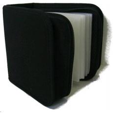 OEM Pouzdro na 48 CD černé (nylonové)