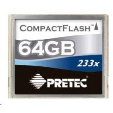 PRETEC CompactFlash Cheetah 233X card 64GB