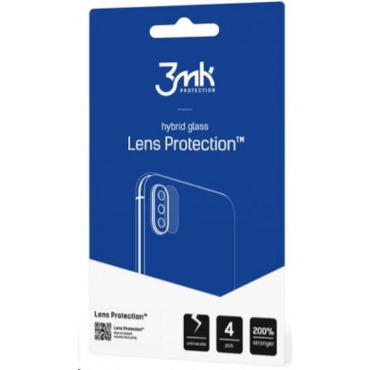 3mk hybridní sklo Lens pro ochranu fotoaparátu pro Huawei P40 Pro (3 ks)