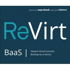 ReVirt BaaS   Veeam Cloud Connect License (1VM/12M)