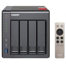 QNAP TS-451+-2G (4C/Celeron J1900/2,0-2,42GHz/2GBRAM/4xSATA/2xGbE/2xUSB2.0/2xUSB3.0/1xHDMI)