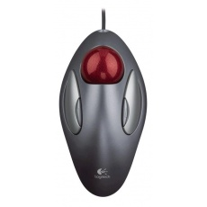 Logitech Mouse TrackMan Marble, silver