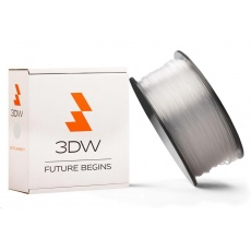 3DW ARMOR - PLA filament, průměr 1,75mm, 1kg, transparentní