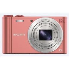 SONY DSCWX220P Cyber-Shot 18.2MPix, 10x zoom, Wi-Fi - růžový