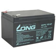 LONG baterie 12V 12Ah F2 LongLife 9 let (WPL12-12)