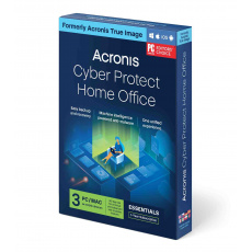 Acronis Cyber Protect Home Office Essentials Subscription 3 Computers - 1 year subscription ESD