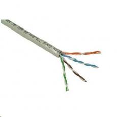 UTP kabel PlanetElite, Cat5E, licna, PVC, Dca, šedý, 305m