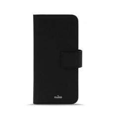 Puro flipové pouzdro s přihrádkou na kartu a zadní kryt pro Apple Iphone X, černá