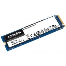 Kingston SSD 250GB NV1 M.2 2280 NVMe™ PCIe Gen (R 2100MB/s; W 1700MB/s)
