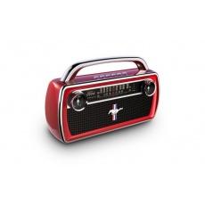 ION Bluetooth reproduktor aktivní, 2.0 o výkonu 25W, frekvenční rozsah od 60 Hz do 20000 Hz, 3,5mm jack, BT, Radio