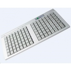 Birch PKB-111 programovatelná klávesnice USB, 111 kláves, světlá