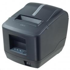 Birch CP-Q1 Pokladní tiskárna s řezačkou, USB+LAN, černá, tisk v českém jazyce