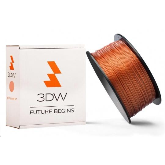 3DW ARMOR - PLA filament, průměr 1,75mm, měděná, 1kg, teplota tisku 190-210°C