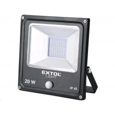 Extol Light reflektor LED s pohybovým čidlem, 1400lm, Economy 43232