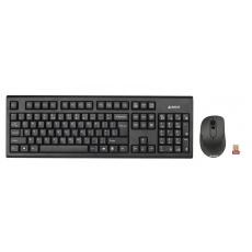 A4tech 7100N set bezdr. kláv. + bezdr. V-Track optická myš,CZ/US, USB