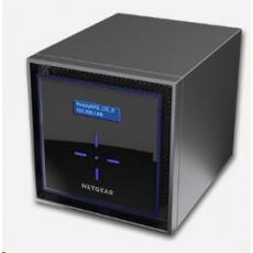 Netgear RN42400 READYNAS 424 4-BAY DISKLESS, 2x gigabit RJ45, 1x eSATA port, 2x USB3.0