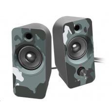 SPEED LINK reproduktory DAROC Stereo Speaker, blue camouflage