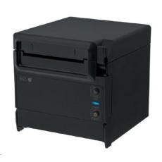 Seiko pokladní tiskárna RP-F10, řezačka, Horní/Přední výstup, LAN, černá, zdroj