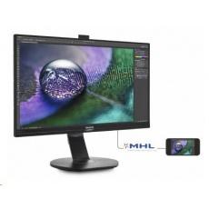 """Philips MT IPS LED 27"""" 272P7VPTKEB/00- IPS panel 3840x2160, 350cd/m, D-Sub, HDMI / MHL, DP, USB, repro, pivot"""