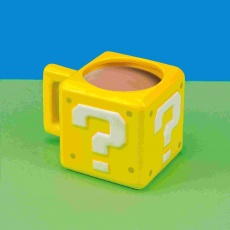 GL SUPER MARIO QUESTION BLOCK MUG