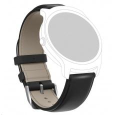 Ticwatch kožený řemínek (černá)