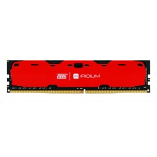 DIMM DDR4 4GB 2400MHz CL15 SR GOODRAM IRDM, red