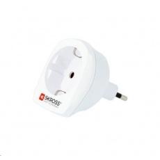 SKROSS cestovní adaptér SKROSS pro použití v Itálii