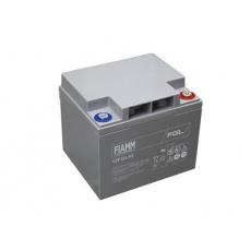 Baterie - Fiamm 12 FGL42 (12V/42Ah - M6)  životnost 10let