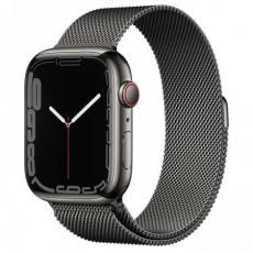 Apple Watch Series 7 Cell, 45mm Graph./Steel/Graph. Mil.Loop