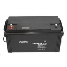 Baterie - FUKAWA FWL 120-12 (12V/120Ah - M8), životnost 10let