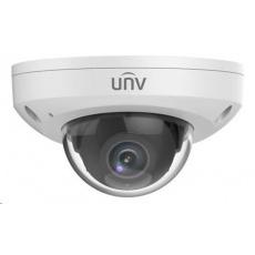 Uniview IPC314SR-DVPF28, 4Mpix, 20 sn/s, H.265, obj. 2,8 mm (102°), PoE, audio, Mic., IR 15m,MicroSDXC, antivandal, IP66