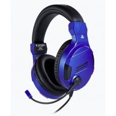 Bigben herní sluchátka s mikrofonem - modré