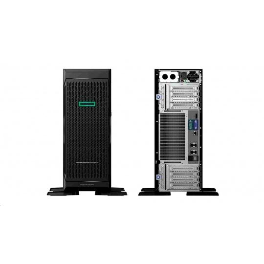 HPE PL ML350G10 rack 2x4114 (2.3G/10C) 2x16G 8SFF P408i-a/2G 2x800W iLo 4U NBD333 877622-421 RENEW