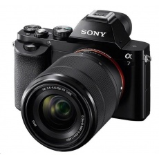 SONY Alfa 7 (24,3MPix, Full Frame snímač) + objektiv 28-70mm